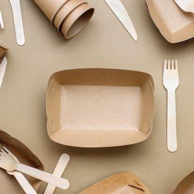 Tacki formowane z papieru – ekologiczne opakowania na żywność